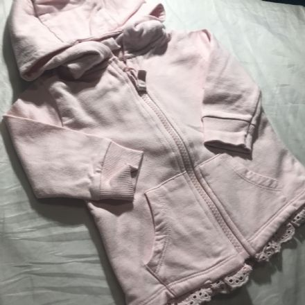 0-3 Month Lace Trim Jacket